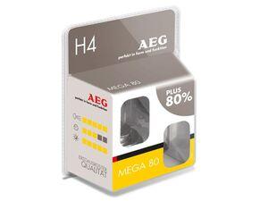 AEG Glühlampe Mega 80 H4, 60/55 W, 2er Set