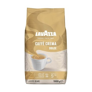LavAzza Caffè Crema Classico, Dolce oder Gustoso ganze Bohnen, jede  1000-g-Packung