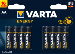 Varta Batterie AA Energy 16er 4106229466