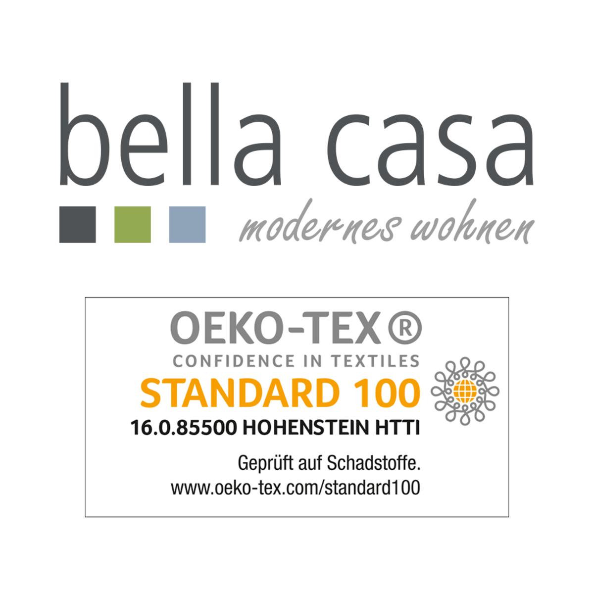 Bild 3 von Bella Casa Mikrofaser-Flauschdecke, ca. 150 x 200 cm, Kreise Senf