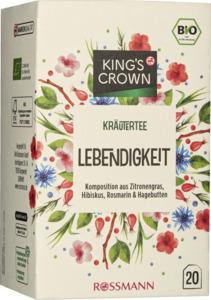 KING'S CROWN Bio Kräutertee Lebendigkeit