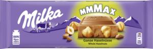 Milka Alpenmilchschokolade Ganze Haselnüsse