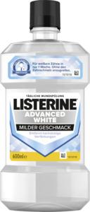 Listerine Mundspülung Advanced White milder Geschmack