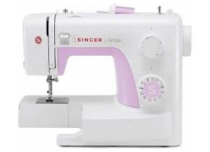 Singer Freiarmnähmaschine Simple 3223 Weiß, Pink