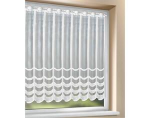 Scheibengardine weiß ca. 110 x 150cm