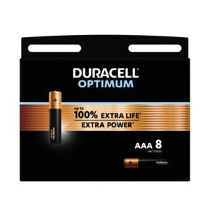 Duracell Optimum AAA Alkaline Batterien