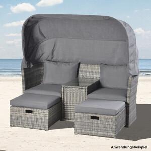 Strandkorb Lounge 170 x 139 x 170 cm für 2 Personen