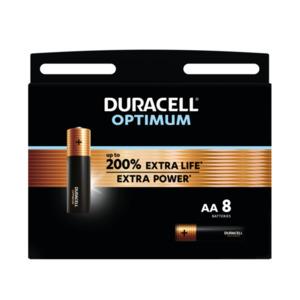 Duracell Optimum AA Alkaline Batterien