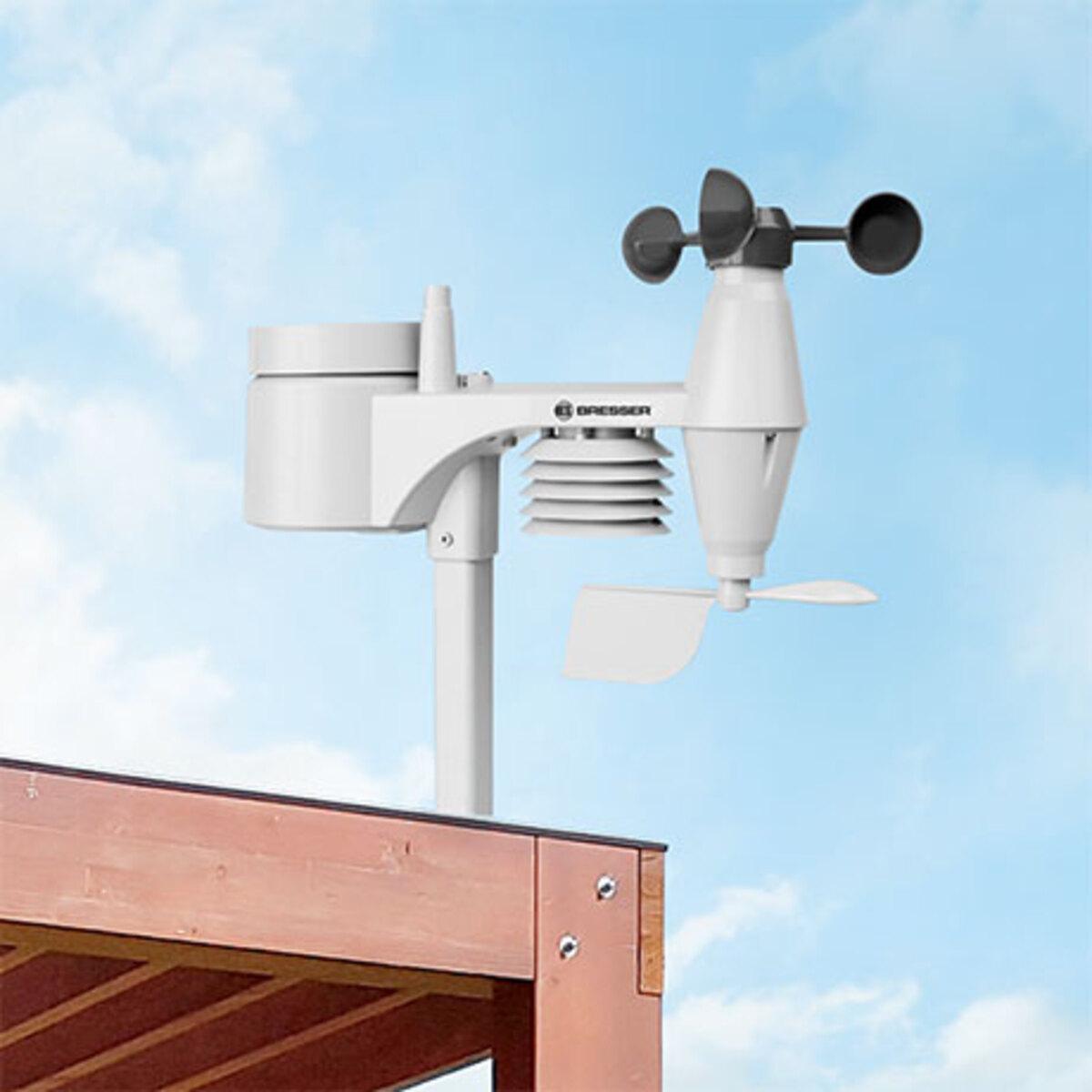 Bild 1 von 5-in-1 Wetterstation Holzoptik