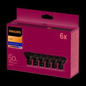 Philips LED Reflektor warmweiß 6er