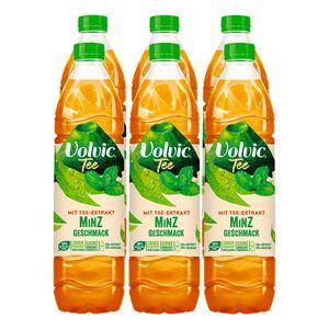 Volvic Grüner Tee mit Minze 1,5 Liter, 6er Pack