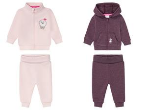 LUPILU® Baby Jogginganzug Mädchen, mit Baumwolle
