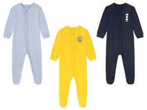 LUPILU® Baby Schlafoverall Jungen, aus reiner Bio-Baumwolle