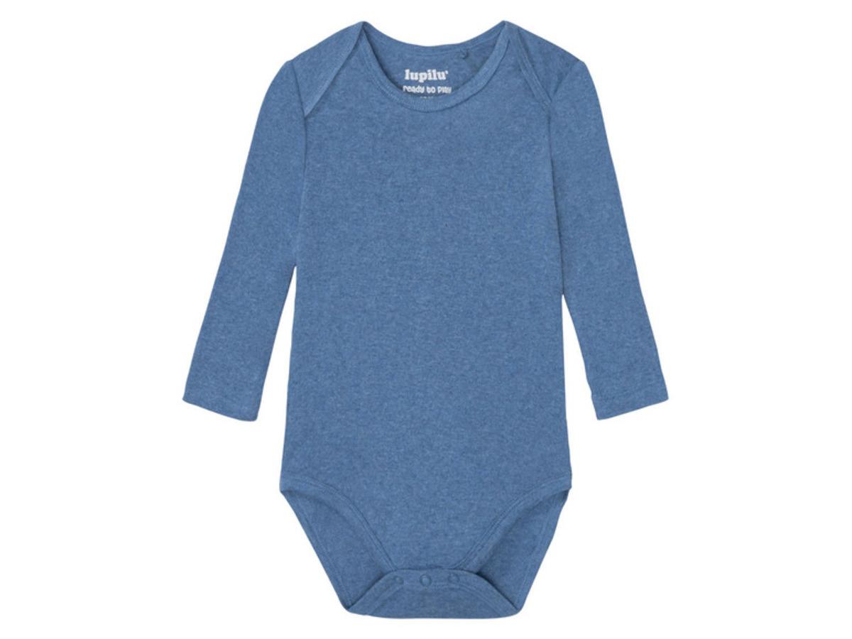 Bild 5 von LUPILU® 3 Baby Jungen Bodies, Bio-Baumwolle
