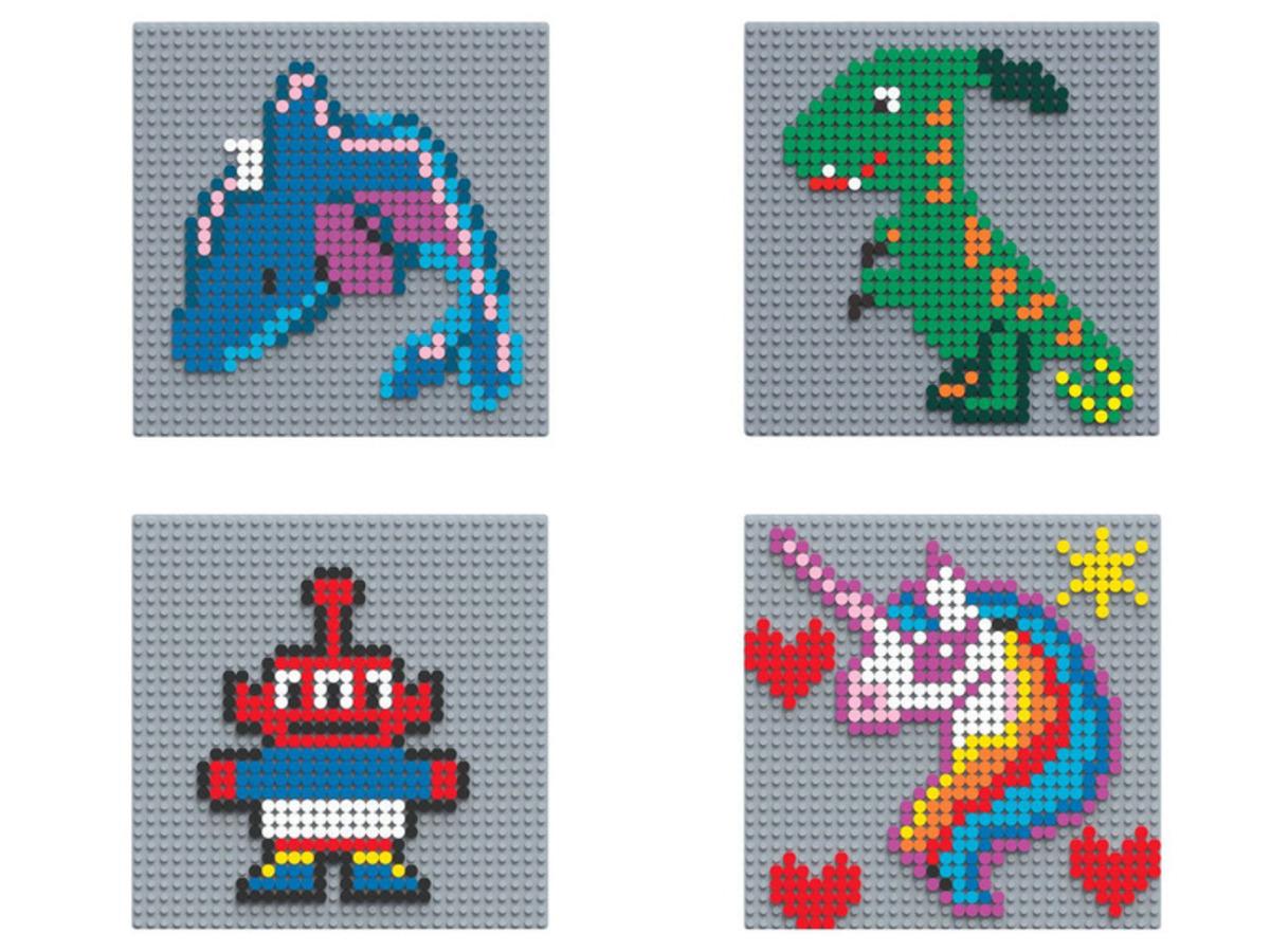 Bild 1 von PLAYTIVE® Pixel Steckbretter