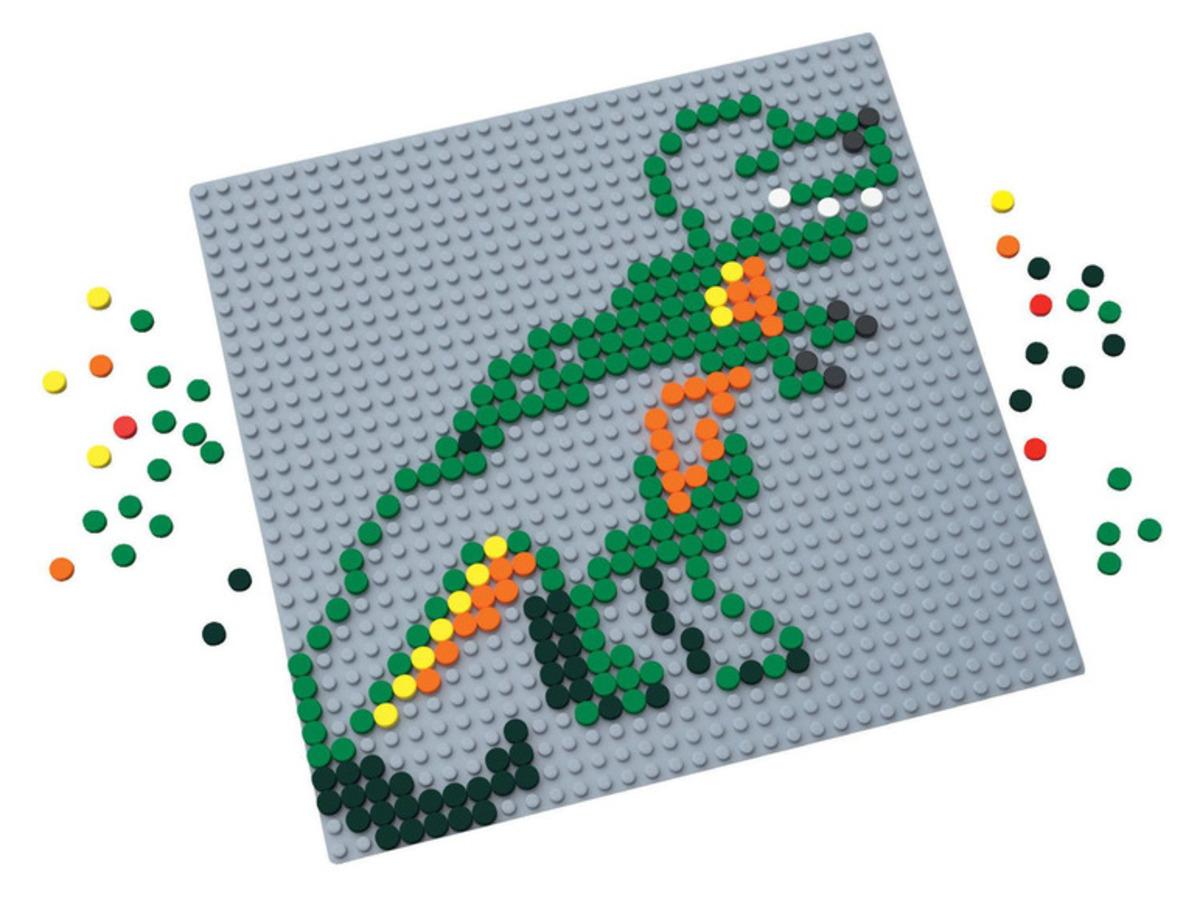 Bild 3 von PLAYTIVE® Pixel Steckbretter