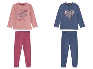 LUPILU® Kleinkinder Pyjama Mädchen, aus reiner Baumwolle