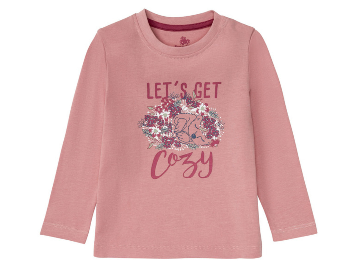 Bild 4 von LUPILU® Kleinkinder Pyjama Mädchen, aus reiner Baumwolle