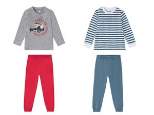 LUPILU® Kleinkinder Pyjama Jungen, mit Schulterknöpfung