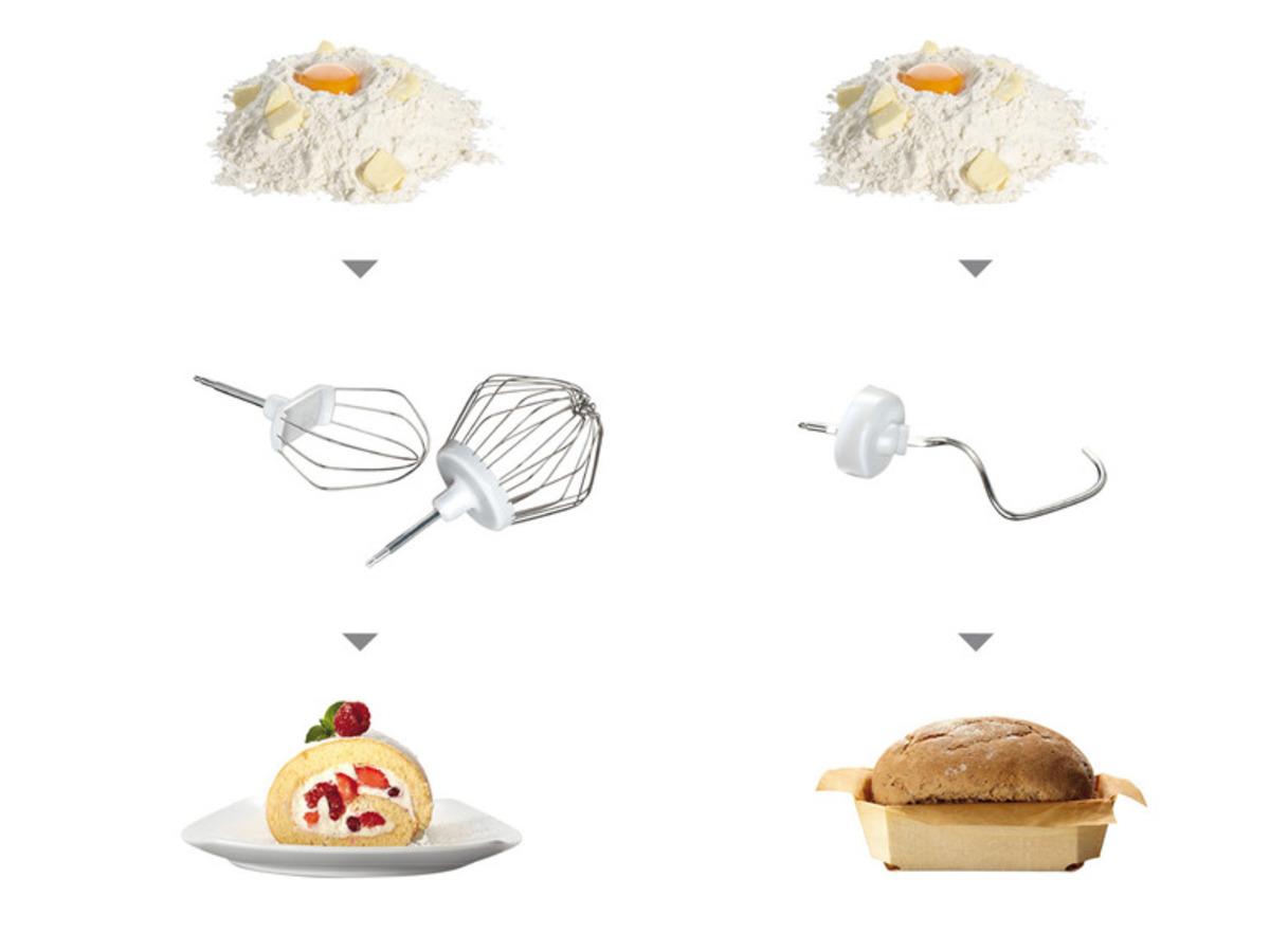 Bild 2 von BOSCH Küchenmaschine »MUM54A00«, EasyArmLift