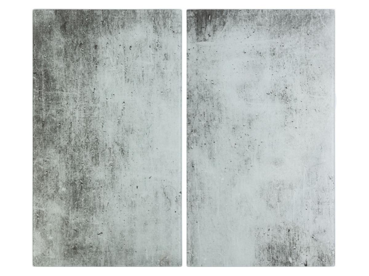 Bild 2 von ERNESTO® Abdeckplatten aus Glas, 2er Set, Antirutschfüße