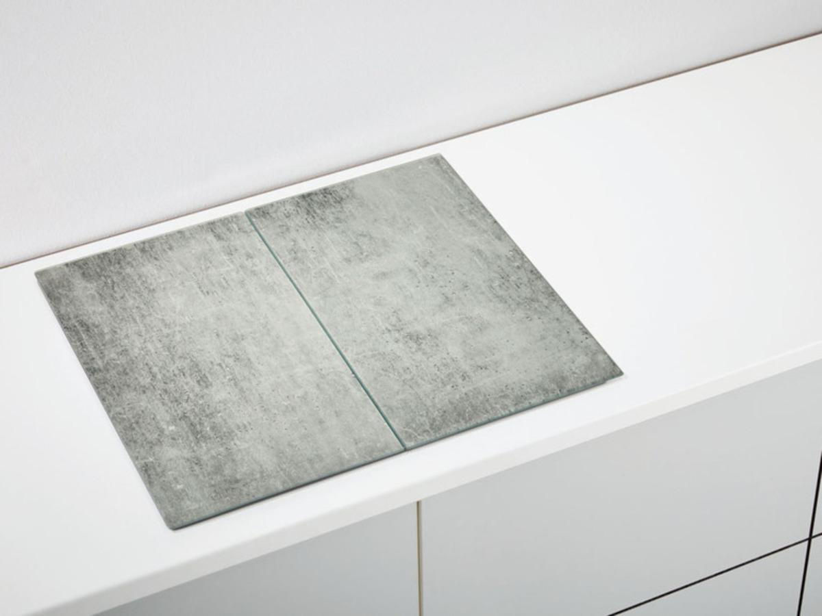 Bild 3 von ERNESTO® Abdeckplatten aus Glas, 2er Set, Antirutschfüße