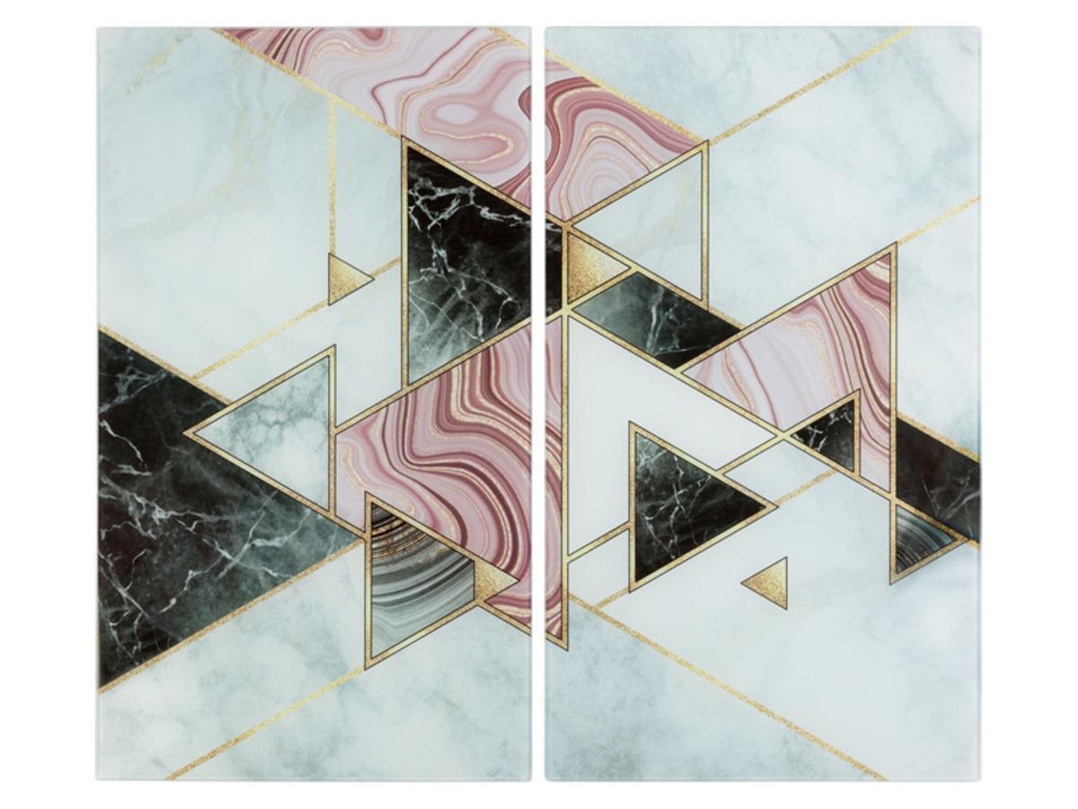Bild 5 von ERNESTO® Abdeckplatten aus Glas, 2er Set, Antirutschfüße