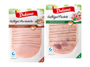 Dulano Geflügel-Wurstsortiment