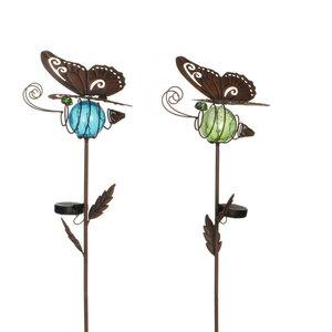 Flector Garten              Solar Gartenstecker Schmetterling, verschiedene Farben