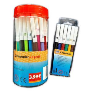 """Paperscrip Fasermaler """"Coloring Marker"""" 56tlg."""