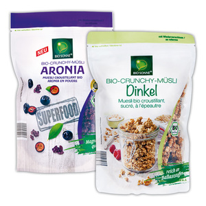 Bio Sonne Bio-Crunchy Müsli / Superfood Müsli