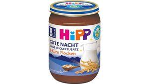 HiPP Babygläschen Gute Nacht Milchbrei 3-Korn Flocken
