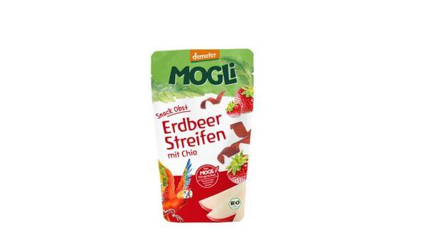 MOGLi Erdbeer Streifen mit Chia