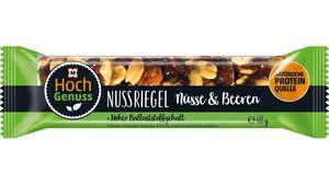 Hochgenuss Nussriegel Nüsse & Beeren