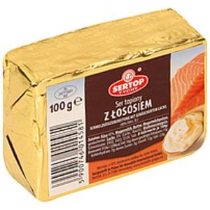 Schmelzkäsezubereitung mit geräuchertem Lachs (40% Fett i. T...