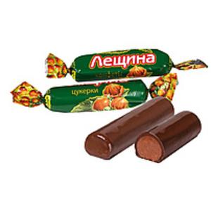 "Nusskonfekt ""Leschina"" in kakaohaltiger Fettglasur (28%) /lo..."
