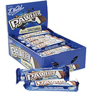 """Milchschokoladeriegel """"Pawelek Toffee"""" mit einer Cremefüllun..."""