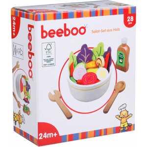 Beeboo Kitchen Beeboo Kitchen Salat-Set aus Holz, 28 Teile