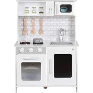 Coemo Kinderküche Lea Holz Weiß