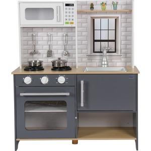 Coemo Kinderküche Klara Holz Anthrazit