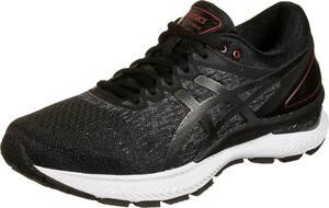 ASICS, Gel-Nimbus 22 Knit Laufschuh Herren in schwarz, Sneaker für Herren