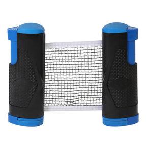 """Tischtennisnetz """"Flexnet Clip"""", Klemmsystem, schwarz/blau"""