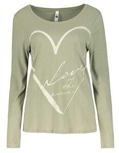 Damen Langarmshirt - Print