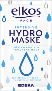 EDEKA elkos FACE Hydro Maske 2x8ml