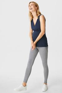 C&A Umstands-Leggings, Grau, Größe: XS