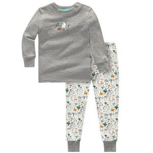 Baby Schlafanzug mit tierischen Prints