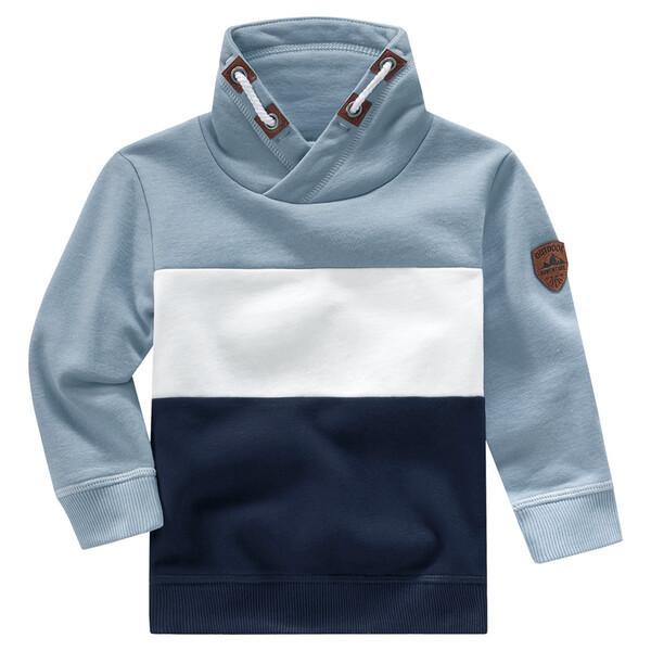 Baby Sweatshirt mit Schalkragen