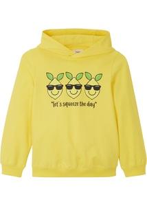 Mädchen Kapuzen-Sweatshirt aus Bio-Baumwolle