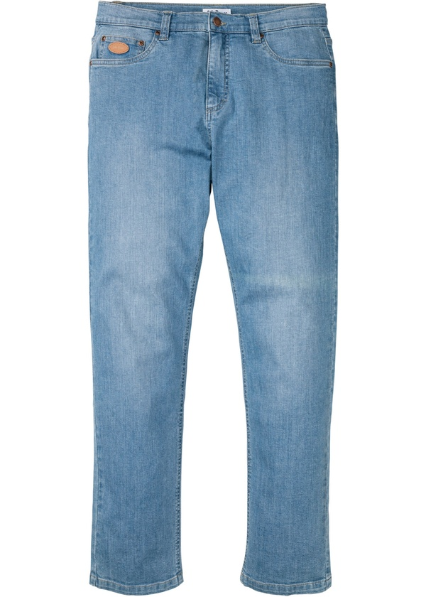 Classic Fit Stretch-Jeans, Tapered