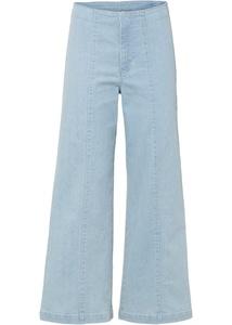 Culotte Jeans mit Teilungsnaht